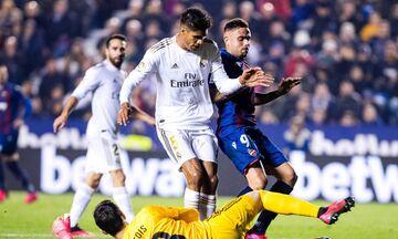 La Liga: Απρόσμενη ήττα για τη Ρεάλ Μαδρίτης, 1-0 από τη Λεβάντε (highlights)