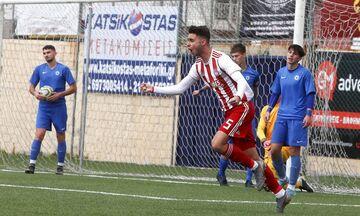 Super League K17: Πέρασε από το Περιστέρι ο Ολυμπιακός, 2-0 τον Ατρόμητο