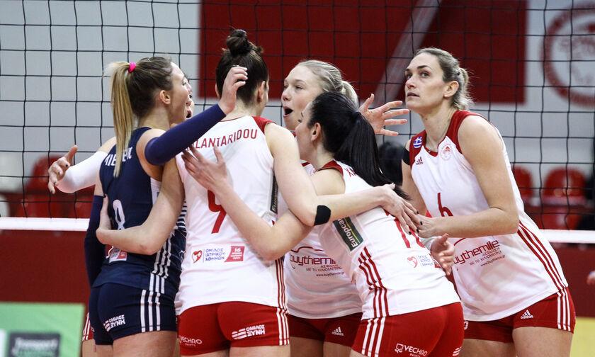 Ολυμπιακός - Ηλιούπολη 3-0: Με φόρα από την Ουγγαρία