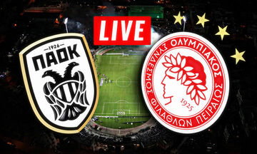 LIVE: ΠΑΟΚ - Ολυμπιακός (19:30)