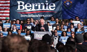 ΗΠΑ: Ευρεία νίκη Σάντερς στη Νεβάδα