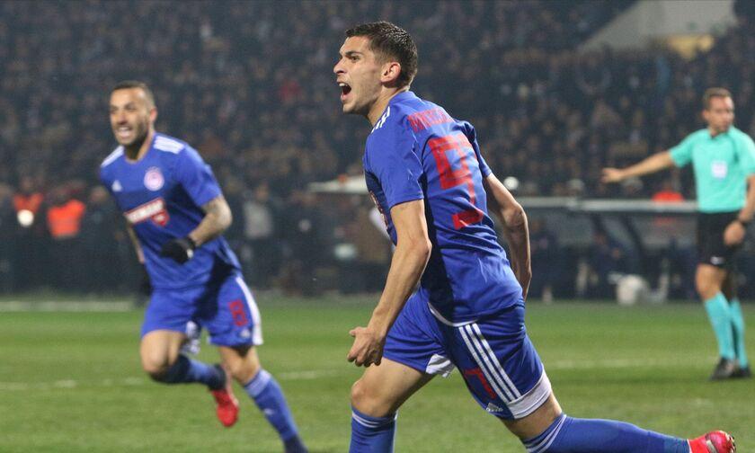 ΠΑΟΚ-Ολυμπιακός 0-1: Αήττητος και αφεντικό για τον τίτλο