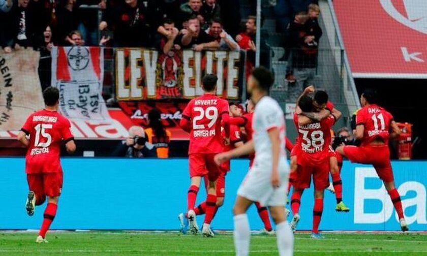 Bundesliga: Η Λεβερκούζεν «έπιασε» τη Γκλάντμπαχ (highlights)