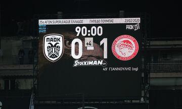 Χωρίς το γκολ του Ολυμπιακού η...παρακάμερα του PAOK ΤV (vid)