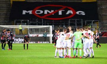 Άιντραχτ Φρανκφούρτης - Ουνιόν: Αντίδραση οπαδών κατά της ομοσπονδίας