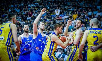 Βοσνία - Ελλάδα 65-70: Δύο στα δύο για τη «γαλανόλευκη»! (vid)