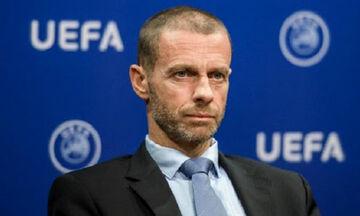 Ο πρόεδρος της UEFA, Αλεξάντερ Τσέφεριν, μιλάει για τον κορονοϊό (vid)
