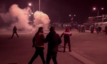 Μεταναστευτικό: Επεισόδια, οδομαχίες και «μπλόκα» σε Λέσβο και Χίο
