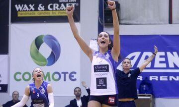Volleyleague γυναικών: Κορυφαία η Μανωλίνα Κωνσταντίνου!