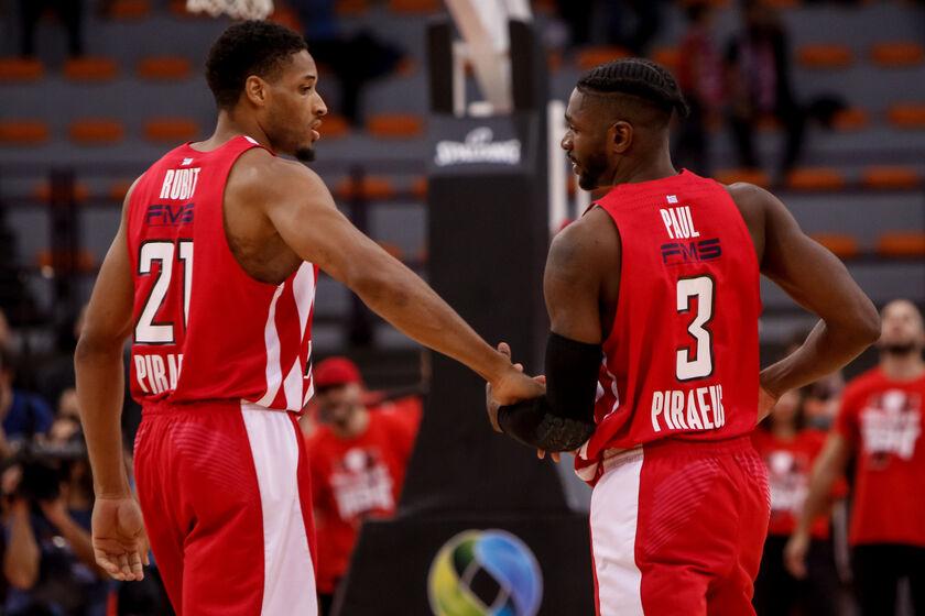 Ολυμπιακός: Με Ρούμπιτ και Πολ και τους ΜακΚίσικ και Μπάικς στο Τελ Αβίβ