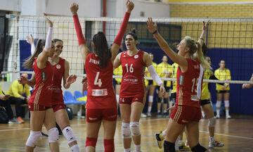 ΑΕΚ - Ολυμπιακός 1-3: Πρόκριση στο φάιναλ φορ του Κυπέλλου βόλεϊ γυναικών !