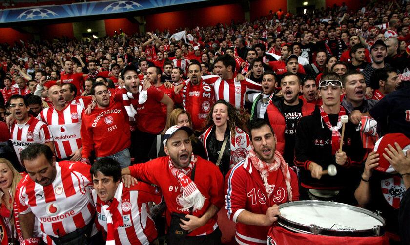 Άρσεναλ-Ολυμπιακός: Περισσότεροι από 6.000 Ολυμπιακοί στο Emirates
