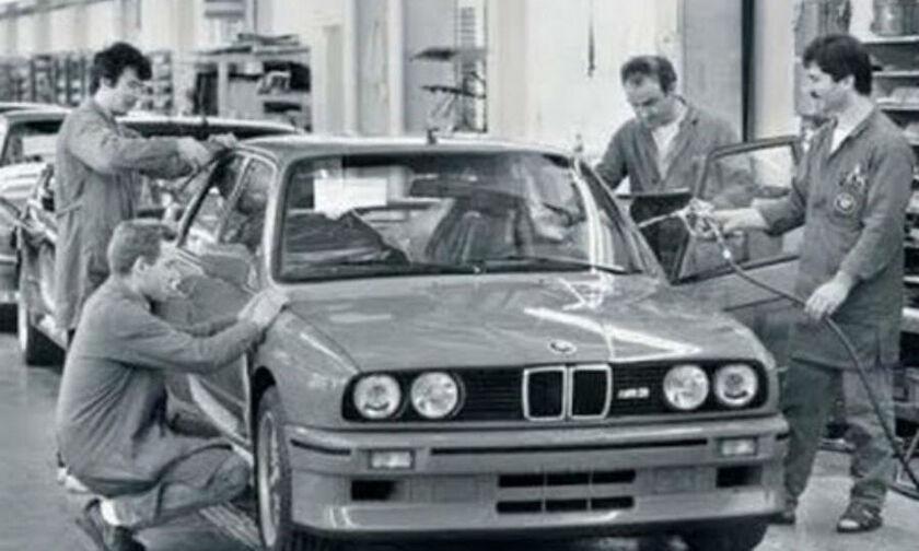 Πώς κατασκευαζόταν η BMW Σειρά 3 Ε30 (vid)