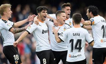 La Liga: Πιο κοντά στην εξάδα η Βαλένθια (βαθμολογία, highlights)