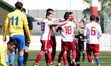 Super League K19: Ανώτερος ο Ολυμπιακός, 2-0 τον Παναιτωλικό
