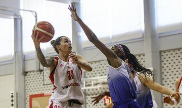 Ολυμπιακός - Νίκη Λευκάδας 96-48: «19 στα 19» με νταμπλ σκορ!