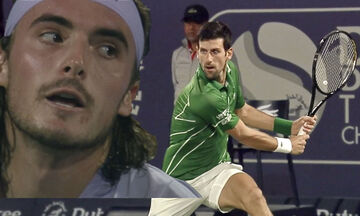 Dubai Tennis Championships: Τσιτσιπάς - Tζόκοβιτς 0-2: Πολύ σκληρός για να χάσει... (highligts)
