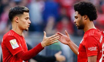 Bundesliga: Τράβηξε «εξάσφαιρο» η Μπάγερν, οριακές νίκες για Γκλάντμπαχ, Ντόρτμουντ (highlights)