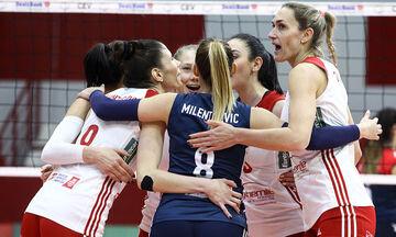 Αίας Ευόσμου - Ολυμπιακός 0-3: Εύκολη νίκη και «κοιτάει» Ευρώπη!