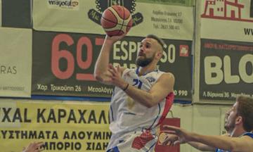 Α2 μπάσκετ: Νέα νίκη ο Χαρίλαος Τρικούπης, στο φινάλε ο Διαγόρας Δρυοπιδέων
