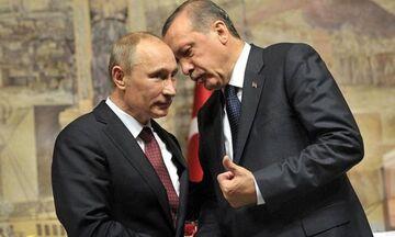 Συνάντηση Πούτιν - Ερντογάν την Πέμπτη