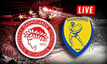 LIVE: Ολυμπιακός - Παναιτωλικός (19:00)