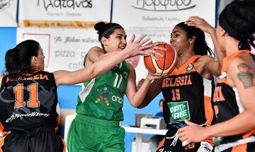 Α1 γυναικών μπάσκετ: Νίκες για Παναθηναϊκό και Ελευθερία Μοσχάτου