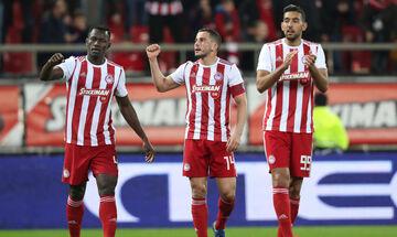 Ολυμπιακός-Παναιτωλικός 2-0: Τα γκολ της νίκης και του +7 (vid)