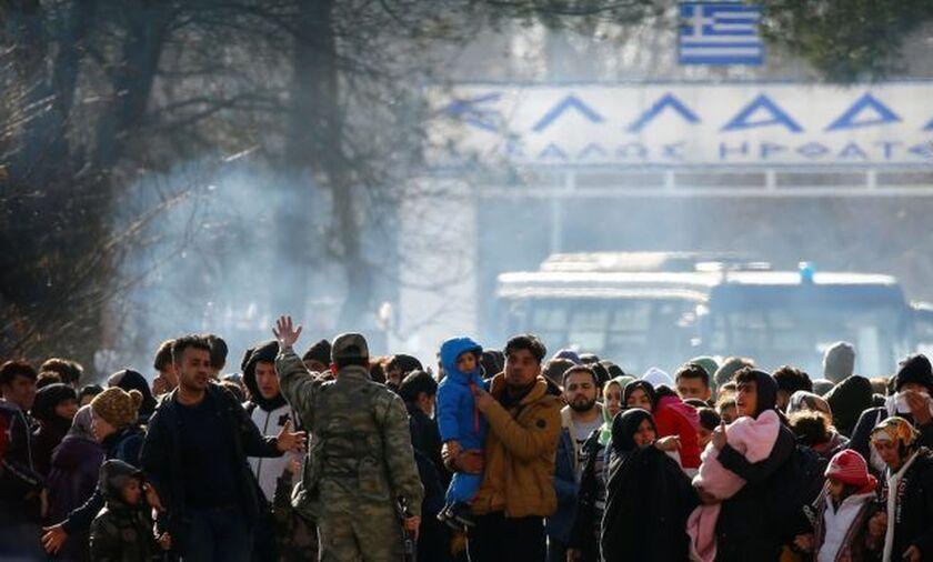 Έβρος: Νέος γύρος επεισοδίων με χημικά και δακρυγόνα στις Καστανιές