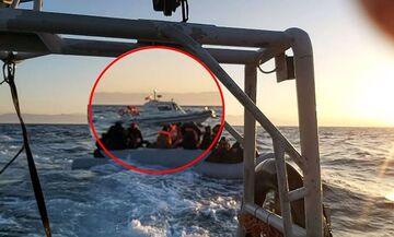 Λέσβος: Τουρκική ακταιωρός συνόδευε τη λέμβο μέσα στην οποία βρέθηκε νεκρό παιδί μεταναστών (vid)
