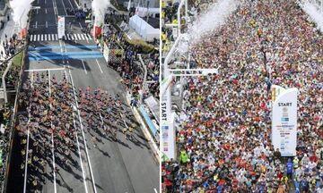 Μαραθώνιος Τόκιο: Έτρεξαν μόνο οι κορυφαίοι λόγω κορονοϊού