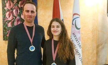 Διπλή ελληνική επιτυχία για τη Νίκου στο World Para Alpine Skiing EC