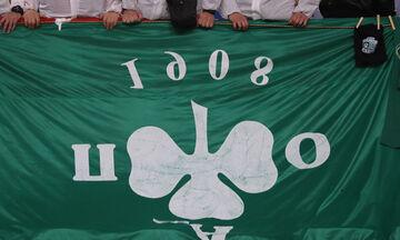 Οι οπαδοί του Ολυμπιακού έτοιμοι για τον κορονοϊό με... ανάποδο πανό για Παναθηναϊκό! (vid)