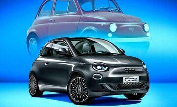 Νέο ηλεκτρικό Fiat 500 με έως 320 χλμ. αυτονομία