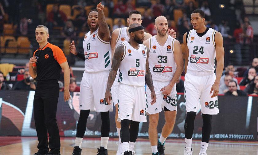 Παναθηναϊκός: Με Ολυμπιακό σημείωσε το χειρότερο ποσοστό τριπόντων φέτος στην EuroLeague!