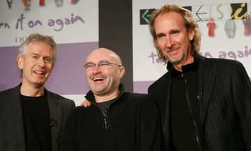 Οι Genesis ξανά μαζί! Mε υιό Κόλινς στα ντραμς! (vids)