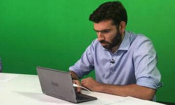 Παραιτήθηκε από την 24MEDIA ο ρεπόρτερ του μπασκετικού Παναθηναϊκού, Γιάννης Κουβόπουλος (pics)