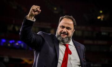 Μαρινάκης: «Συγκίνηση και εθνική υπερηφάνεια»