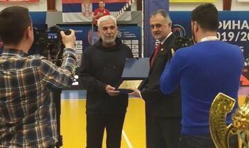 Οι Σέρβοι και ο Ζόραν Γκάιτς  τίμησαν τον Άρη Αγγελόπουλο, στην πατρίδα του Τζάιτς (pics)