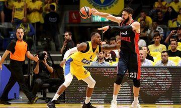 EuroLeague: Στο Βελιγράδι θα γίνει το Μακάμπι Τέλ Αβίβ - Μπασκόνια