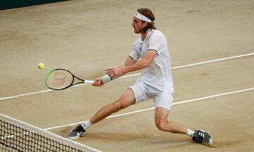 Davis Cup: Πρόκριση για την εθνική με νίκη του Τσιτσιπά