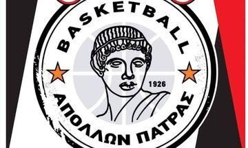 Απόλλων Πάτρας: Με οκτώ παίκτες -«που αυτή τη στιγμή δείχνουν υγιείς»- στο ΣΕΦ με Ολυμπιακό Β'