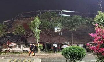 Κορονοϊός: Ξενοδοχείο καραντίνας κατέρρευσε στην Κίνα (vids)