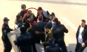 Επίθεση από οπαδούς στον πρόεδρο της Μαλάτιασπορ (vid)