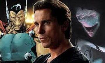 Ο Κρίστιαν Μπέιλ στο «Thor: Love and Thunder» (vid)