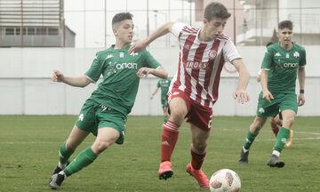 Super League K15: Ισόπαλοι 1-1 Ολυμπιακός και Παναθηναϊκός