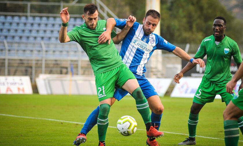 Super League 2: Συγκάτοικοι στην τρίτη θέση Λεβαδειακός και Χανιά (βαθμολογία, highlights)