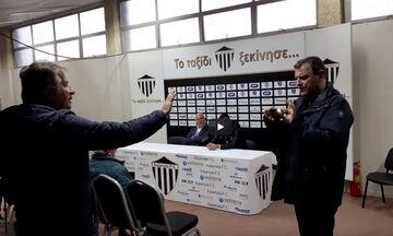 Tεχνικός διευθυντής της Καλαμάτας σε Γεωργούντζο: «Βγάλε και το στριγκάκι»! (vid)