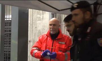 Γιουβέντους-Ίντερ: Έλεγχος με θερμόμετρα σε όσους μπήκαν στο γήπεδο! (vid)