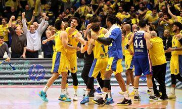 Euroleague: Οριστικά στο Τελ Αβίβ το Μακάμπι-Μπασκόνια